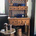 Blue Tile Cabinet